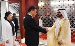 الصورة: محمد بن راشد: الإمارات أول دولة خليجية أقامت علاقات استراتيجية مع الصين