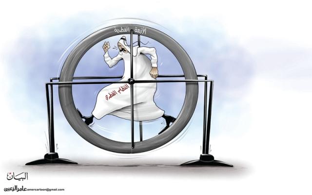 الصورة: النظام القطري