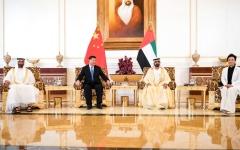 الصورة: محمد بن راشد ومحمد بن زايد: مرحلة استراتيجية في علاقتنا مع الصين