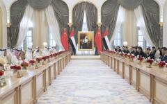 الصورة: الإمارات والصين تتفقان على تأسيس علاقات شراكة استراتيجية شاملة