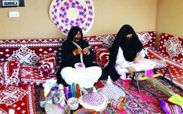 الصورة: «ثقافة وسياحة أبوظبي» تسجل مشاركة ناجحة في سوق عكاظ التاريخي