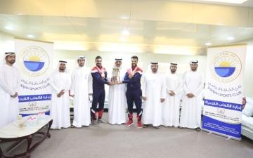 الصورة: «الشارقة» يحتفي بأبطال كاراتيه الإمارات