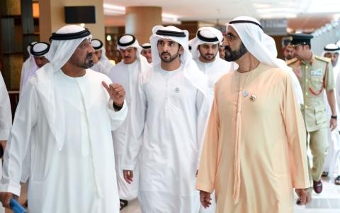 الصورة: محمد بن راشد: منافذ الإمارات واجهات حضــارية تعكــس أصـالة المواطنة وقيمنا النبيلة