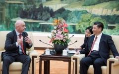 الصورة: التنين الصيني يحلم بمونديال 2030 أو 2034