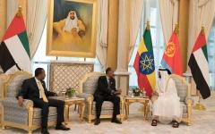 الصورة: محمد بن زايد: الإمارات تدعم كل جهد يستهدف تحقيق السلام في العالم