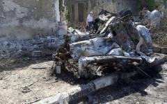 الصورة: 100 قتيل في تفجيرات بالسويداء في سوريا