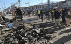 الصورة: 31 قتيلا بهجوم انتحاري في باكستان