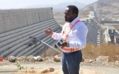 الصورة: العثور على مدير سد النهضة الاثيوبي مقتولا داخل سيارته