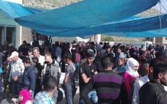 الصورة: عودة مئات اللاجئين السوريين من لبنان
