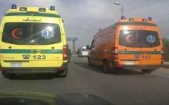 الصورة: مقتل وإصابة 30 شخصاً في حادث تصادم بمصر