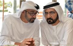 الصورة: محمد بن راشد: محمد بن زايد فخر الإمارات وشعبها