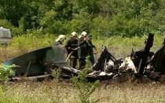 الصورة: مقتل 18 شخصاً في تحطم طائرة شرقي روسيا