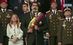 الصورة: فيديو.. نجاة الرئيس الفنزويلي مادورو من محاولة اغتيال