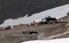 الصورة: مقتل جميع ركاب الطائرة العسكرية السويسرية