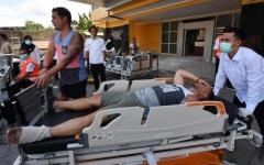 الصورة: ارتفاع حصيلة قتلى زلزال إندونيسيا إلى 142 شخصا