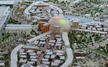 """الصورة: جولة تعريفية """"مصغرة"""" في عالم إكسبو دبي"""