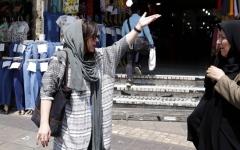 الصورة: العقوبات تزيد الاحتجاجات الإيرانية