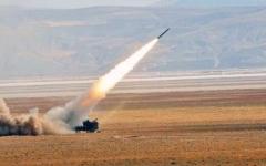 الصورة: التحالف يستهدف مطلقي الصاروخ الباليستي على جازان أمس