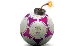 الصورة: عجز مالي قطري يخنق «مونديال 2022»