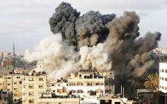 الصورة: استشهاد 4 فلسطينيين في غزة