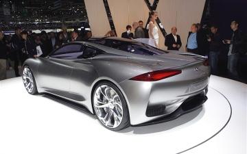 الصورة: سيارة كهربائية جديدة من «إنفينيتي»