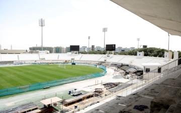 الصورة: 90% نسبة إنجاز ملاعب الشارقة استعداداً لكأس آسيا 2019