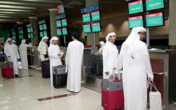 الصورة: 7 دقائق إجراءات سفر الحجاج في مطار دبي