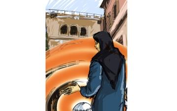 الصورة: ضابط في شرطة دبي يفرّج كربة مطلوبة في 10 آلاف درهم
