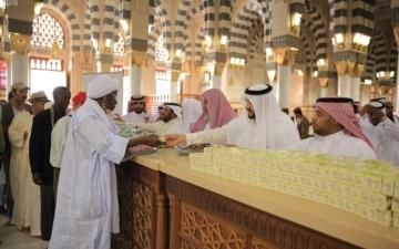 الصورة: مؤسسات السعودية خلية نحلٍ لخدمة ضيوف الرحمن