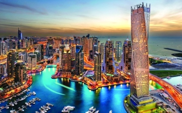 الصورة: دبي وأبوظبي  أفضل مدينتين للعيش إقليمياً