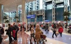 الصورة: «دبي الدولي» ثالث أكثر مطارات العالم ازدحاماً