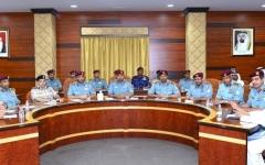 الصورة: المؤسسات الشرطية تنشر دوريات مرورية وأمنية خلال إجازة العيد