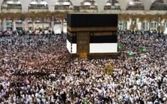 الصورة: وصول مليون و800 ألف حاج إلى الأراضي المقدسة