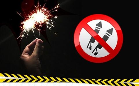 الصورة: شرطة أبوظبي تحذر من مخاطر الألعاب النارية