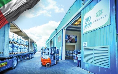 الصورة: الإمارات ترسّخ ريادتها  في المساعدات والإغاثة دولياً