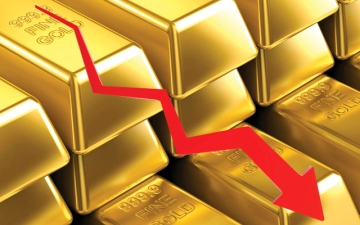 الصورة: الذهب يهبط إلى أدنى سعر  خلال 19 شهراً