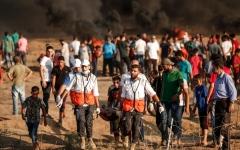 الصورة: شهيدان بجمعة «ثوار من أجل القدس والأقصى»
