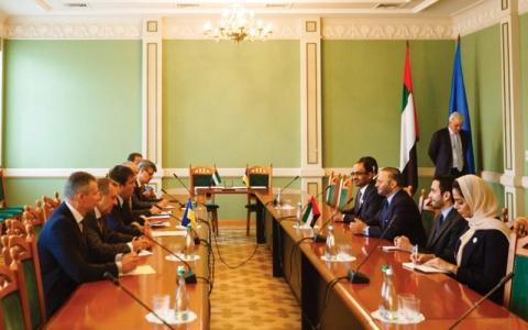 الصورة: تعاون بين الإمارات وأوكرانيا لتحقيق المصالح المشتركة