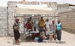 الصورة: عودة أهالي قرية المنظر المحررة وسط أجواء الفرح