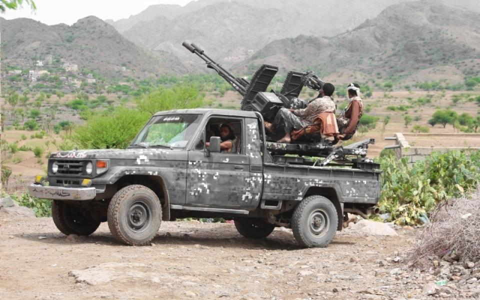 الصورة: الشرعية على مشارف مخازن «الباليستي» الحوثي في البيضاء