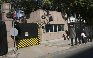 الصورة: إطلاق نار على السفارة الأميركية في أنقرة