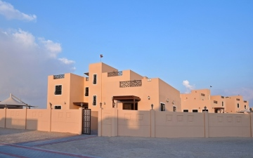الصورة: 65 % إنجاز مشروع الحي الإماراتي بأبوظبي