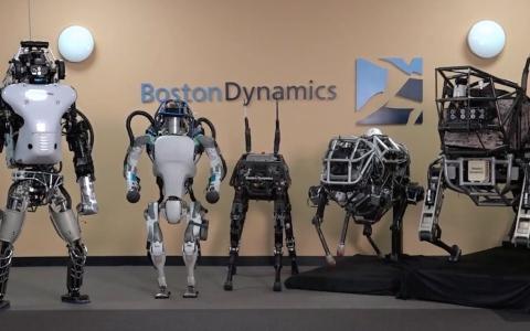 الصورة: معارك ضارية بين روبوتات