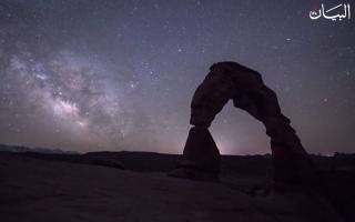 """الصورة: """"الدرور"""" حسابات مدهشة عن عالم الفلك في الإمارات"""