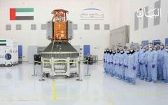 الصورة: «خليفة سات».. أيادي الإمارات تجوب أرجاء الفضاء