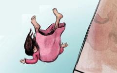 الصورة: وفاة طفلة سقطت من الطابق  29 في الشارقة
