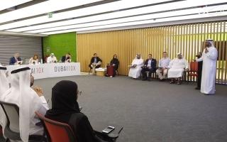الصورة: 95 فكرة من 37 جهة حكومية في المرحلة الثانية لمبادرة Dubai10X