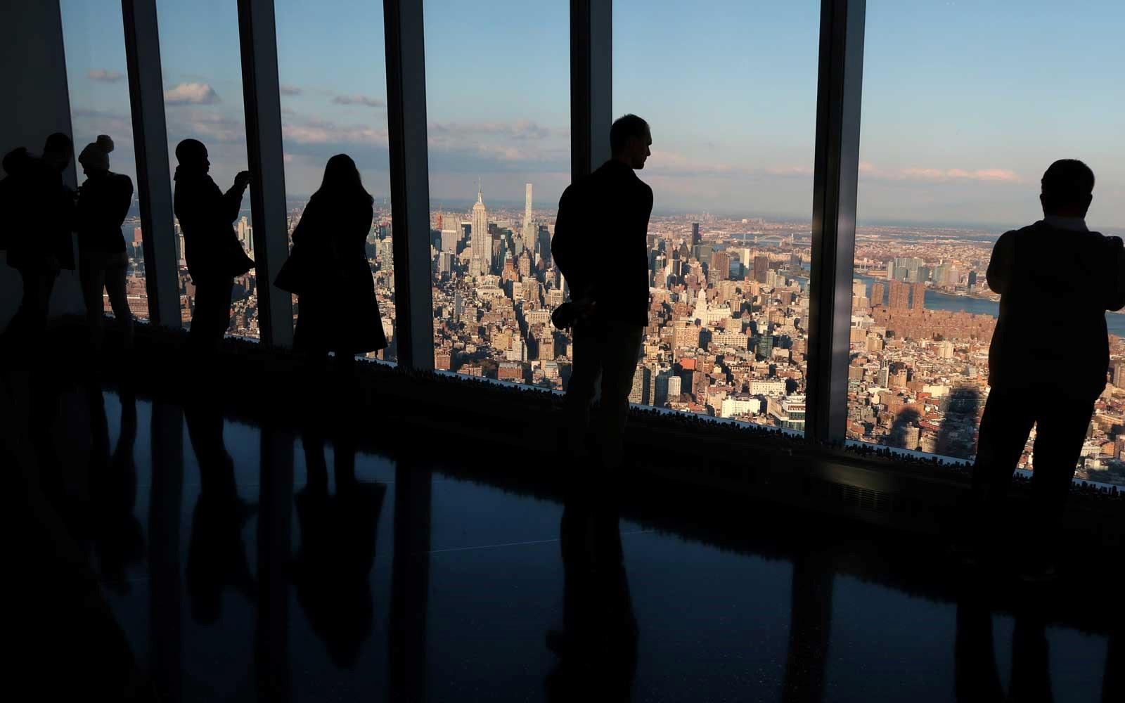 الصورة : منصة برج شارد في لندن
