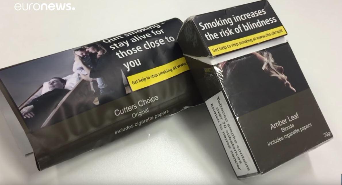 علب سجائر محايدة في بلجيكا للحد من التدخين