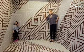 """الصورة: """"متحف الغموض"""" رحلة الخدع البصرية تنطلق من دبي"""